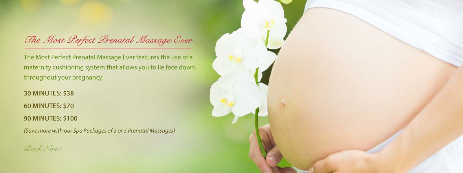 The Most Perfect Prenatal Massage. Exclusively at Pacific Tranquility Massage. Local Massage Therapist near me.