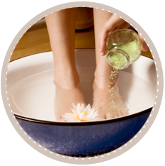 Detox Foot Soak Exclusively at Pacific Tranquility Massage